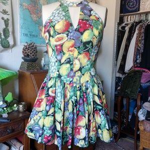 80' VINTAGE Kamisato party dress by Geary Roark